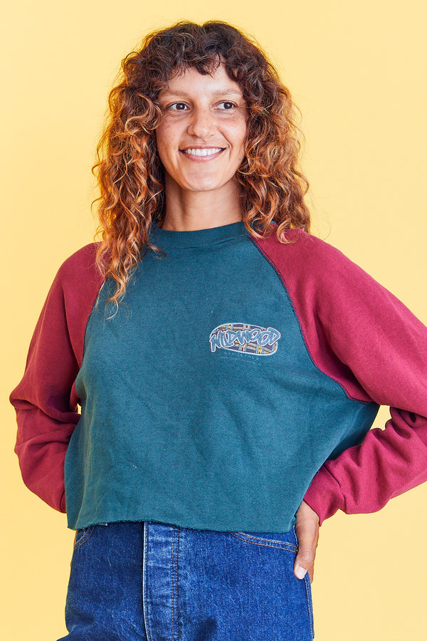 Wildwood, NJ Cropped Sweatshirt