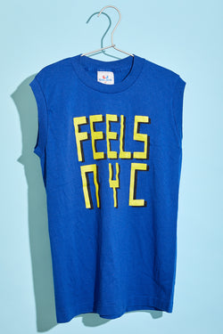 Reclaimed FEELS NYC Logo Tee