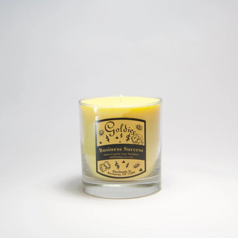 Goldie's Business Success Candle