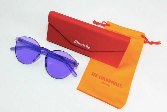 CHUNKS: Heart Sunnies in Mermaid