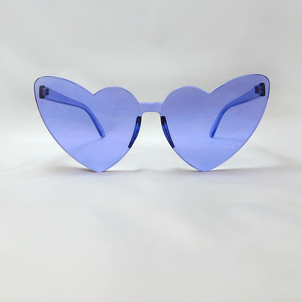 CHUNKS: Heart Sunnies in Amethyst