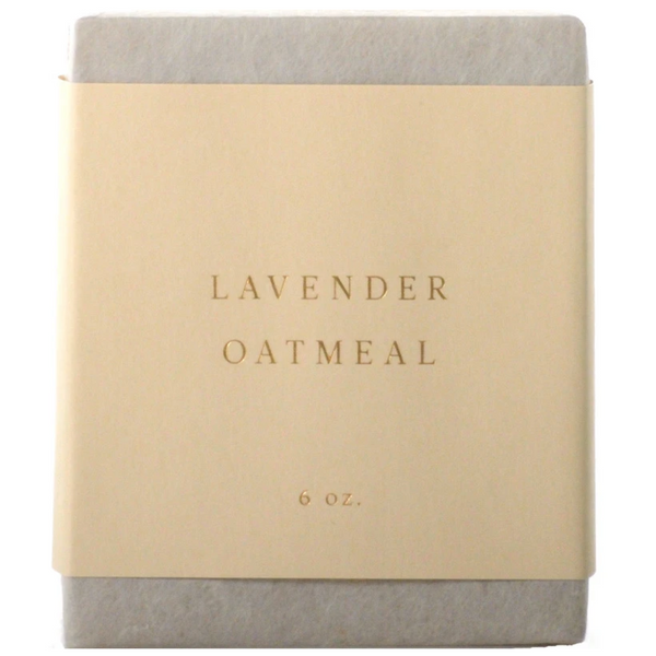 Saipua Lavender Oatmeal Soap Bar
