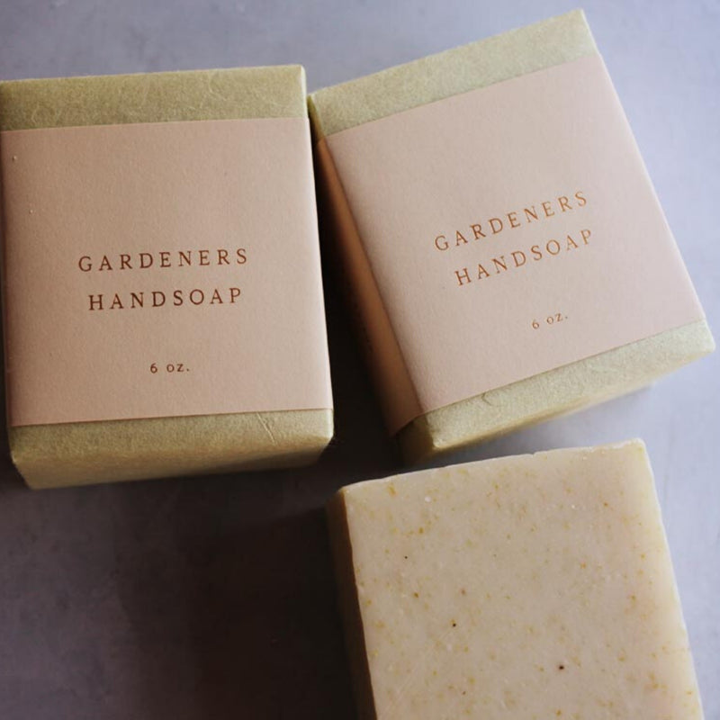 Saipua Gardeners Soap Bar
