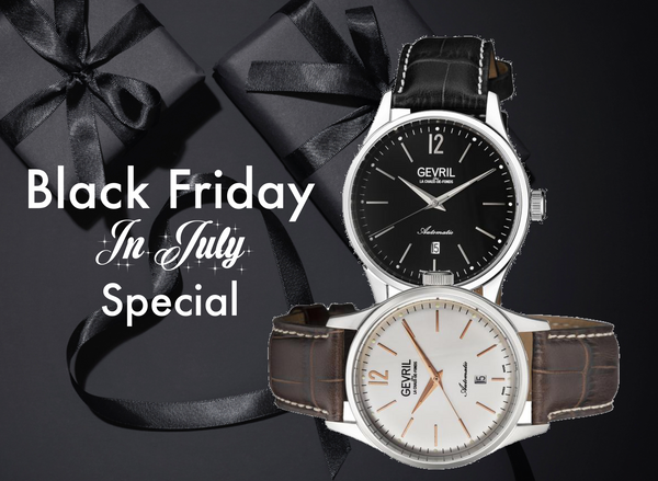 Black Friday In July Mens Special
