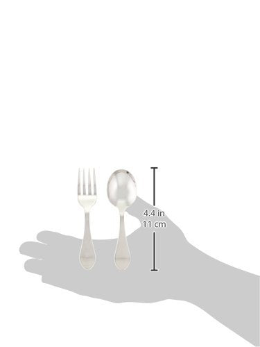 Reed & Barton 5930 2-piece Pointed Antique Sterling Baby Flatware Set