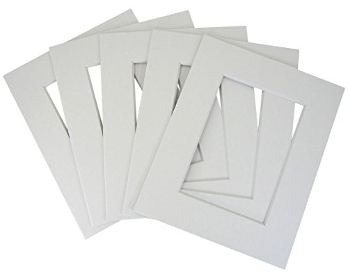 20 of White 11x14 conservation whitecore mat,fits 8x10 +back+bag