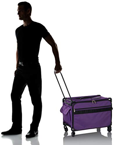 Mascot Metropolitan Tutto Machine Case On Wheels Extra Large 24in Purple X-Large/24