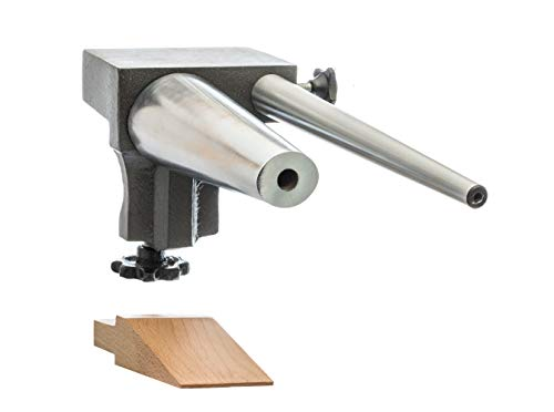 SE JT879BA3 Clamp-On Bench Anvil Set with Bracelet Mandrel/Ring Mandrel/Wooden Pin