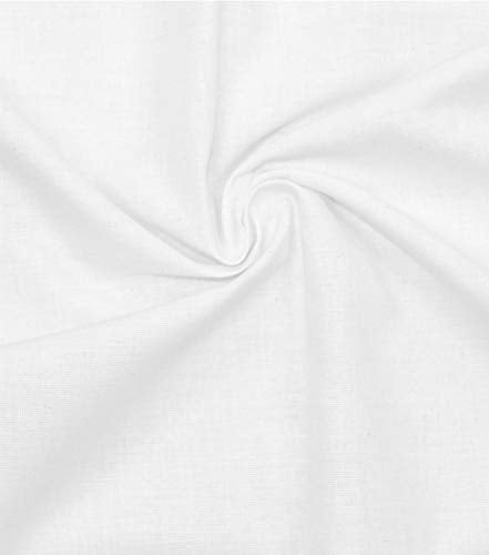 Roc-lon 86508 No.406 Permanent Press Muslin, 50-Yard, Bleached