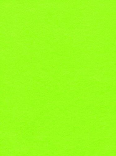 1-Bolt Kunin Eco-fi Classicfelt, 72-Inch by 20-Yard, Neon Green