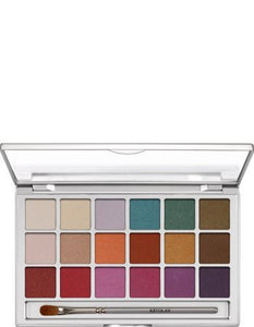 Kryolan Eye Shadow Variety 18 Colors 5318 V1 Interferenz Makeup Palette