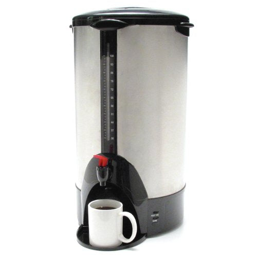 "Coffee Pro CFPCP100 Coffee Makers, 12.5"" Length, 12.5"" Width, 13.3"" Height, 23 lb"
