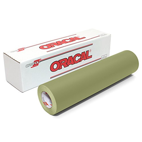 Oracal 631 Matte Vinyl Roll 24 Inches by 150 Feet - Olive