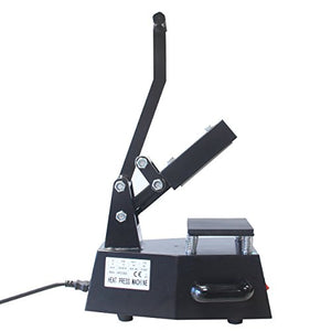 "HFS (R) Digital Heat Press - 5""x5"" Sublimation Press - Single Heater"