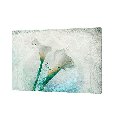 "ArtWall Elana Ray's Two Calla Lilies Gallery Wrapped Canvas, 12 x 18"", Multicolor"