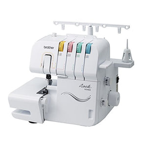 Brother Serger, 1034DX, 3/4 Thread Serger with Differential Feed, 3 or 4 Thread Capability, 1,300 Stitches Per Minute, Color-Coded Threading Guides