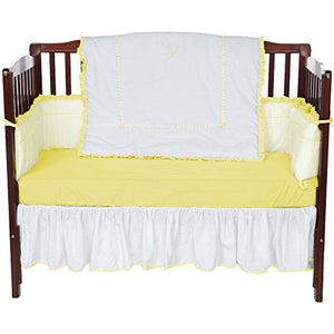 Baby Doll Bedding Unique Crib Bedding Set, Yellow