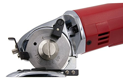 Hercules AS100-K Electric Rotary Fabric Mini Cutter & Round Knife Cutting Machine with GENUINE Hercules Replacement Parts (Hercules AS100-K Cutter)