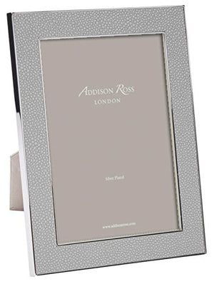 Addison Ross Shagreen Grey Picture Frame (8x10)