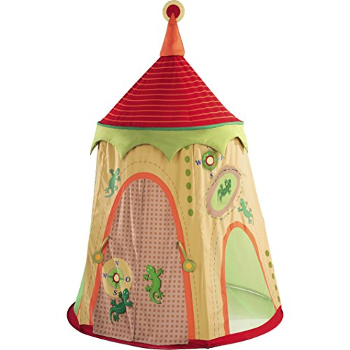 "HABA Expedition Play Tent - 75"" Tall Playhouse - A Beautiful Children's Bedroom Decor Accent"