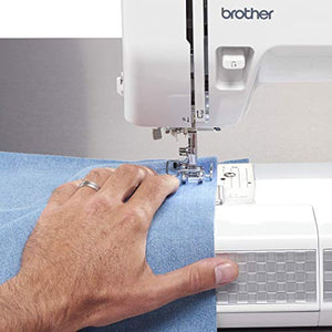 Brother RST531HD Refurbished Strong and Tough 53 Stitch Sewing Machine with Finger Guard White