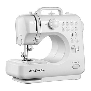 MICHLEY Desktop 12-Stitch Sewing Machine