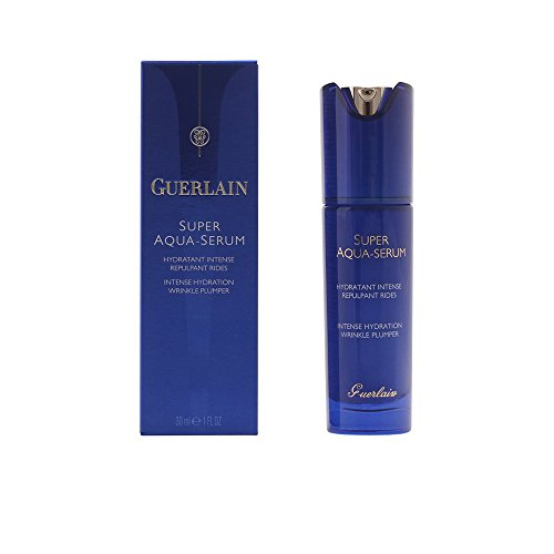 Guerlain Super Aqua Intense Hydration Wrinkle Plumper Serum for Unisex, 1 Ounce