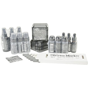 Ranger Tim Holtz Distress Color of The Month Product Refill June Hickory Smoke Painting Supplies