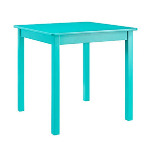 Linon  Table Chair Set, Teal