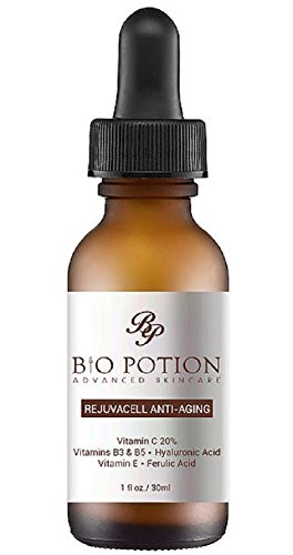 Bio Potion Vitamin C Anti-Aging Serum with Hyaluronic Acid for Skin
