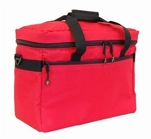 BlueFig TB19 Combo Sewing Machine Carrier/Project Bag/Notion Bag (Red)