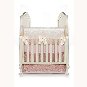 Glenna Jean Remember My Love Convertible Crib Rail Protector, Short