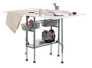 SD STUDIO DESIGNS Studio Designs Sew Ready Hobby and Craft Table with Drawers 13374