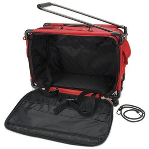 Mascot Metropolitan 5222CMA-L Tutto Machine Case On Wheels, 22 Inch, Red
