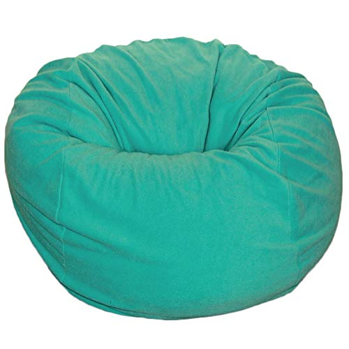 Ahh! Products Red Anti-Pill Fleece Washable Large Bean Bag Chair