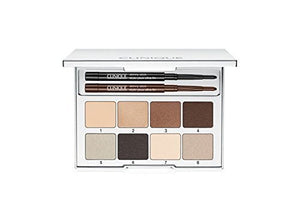 Clinique Pretty Easy Eye Palette - Comes with Eight Shades of Long-wearing All About Shadow by Illuminations