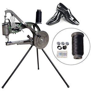 ETE ETMATE Hand Machine Cobbler Shoe Repair Machine Dual Cotton Nylon Line Sewing Machine