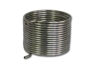 "COLDBREAK 50' HERMS Coil, 1/2"" Stainless Steel, 12"" Diameter, Step Mash 10-20 Gallon Batches"