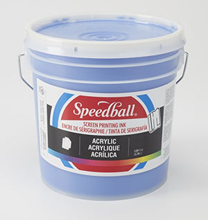Speedball 004671 Acrylic Screen Printing Ink, 32 fl. oz, Ultramarine Blue