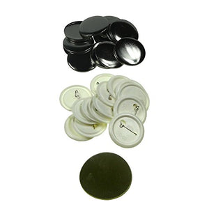 Sunshine 50mm Rotate Type Manual Badge Maker Badge & Button Machine Kit Stamping for plastic-back badge parts (200sets)