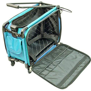 Mascot Metropolitan Tutto Machine Case On Wheels Large 22in Turquoise Large/22,