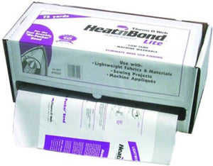 Thermoweb Heat 'n Bond 17x75 White Iron-On Adhesive