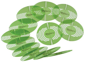 Alvin 3903-96 Extra Large Series Ellipse Template Set