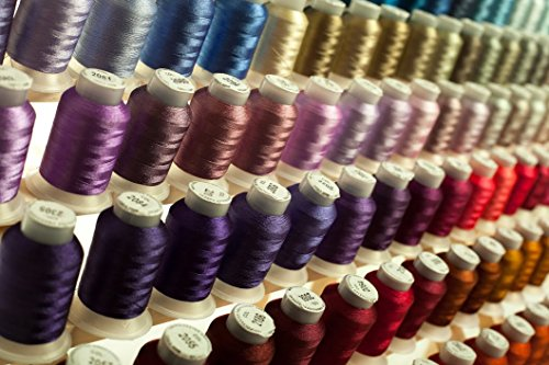 Mega Kit 260 Spools Polyester Embroidery Machine Thread