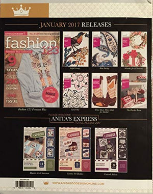 Anita Goodesign All Access VIP Club Embroidery Designs CD & Book January 2017