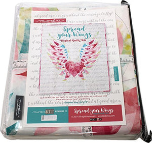 Spread Your Wings Large Quilt Kit Moda Fabrics KITWINGS 11