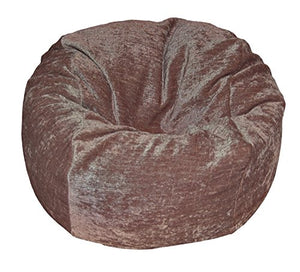 Ahh! Products Chenille Cocoa Washable Kid Bean Bag Chair