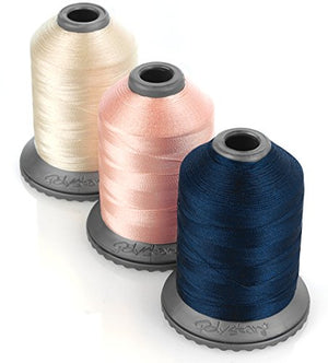 Polystar 64 Count of Embroidery Thread Now with 1,100 Yard Snap Spools w/Thread Box Especially Produced for Use in Brother and Babylock Machines