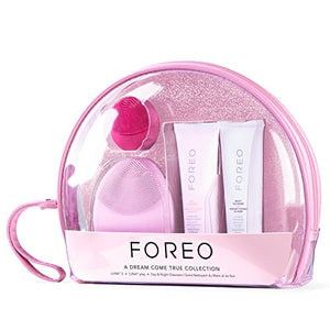 FOREO LUNA 2(T-Sonic Facial Cleansing & Anti-Aging Device) ('A Dream Come True' Anti Aging Skincare Set)