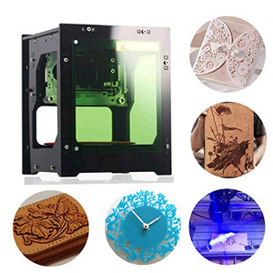 CNC Laser Engraver,1000mW DIY Mini USB Laser Engraving Machine Automatic CNC Wood Router Laser Engraver Printer Cutter Cutting Machine,490x490 Pixel
